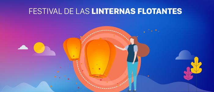 festival de las linternas flotantes