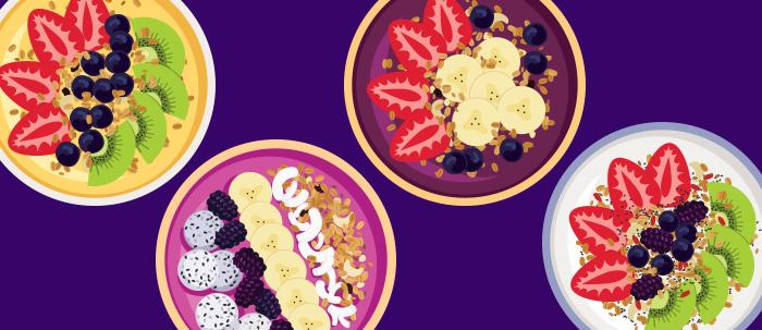 Parfait una opción que combina los cereales con las frutas